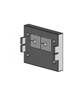 Pasamuros para cables conectorizados de la serie KEL-QUICK,  IP54 , para 2 insertos, ICOTEK