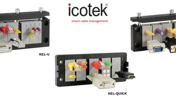 Reduce el coste de materiales hasta en un 30% gracias a los pasamuros para cables de montaje rápido KEL-QUICK de ICOTEK