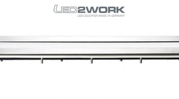 Iluminación LED industrial desarrollada para la industria Alimentaria