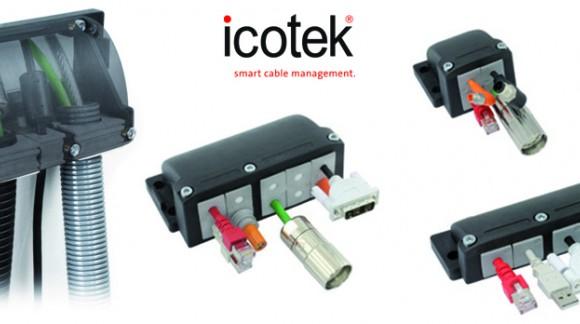 ¿Necesitas alta estanqueidad? KEL-FG, el nuevo sistema pasamuros para cables en ángulo de 90º de ICOTEK
