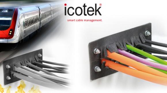 Pasamuros cortafuegos para aplicaciones ferroviarias