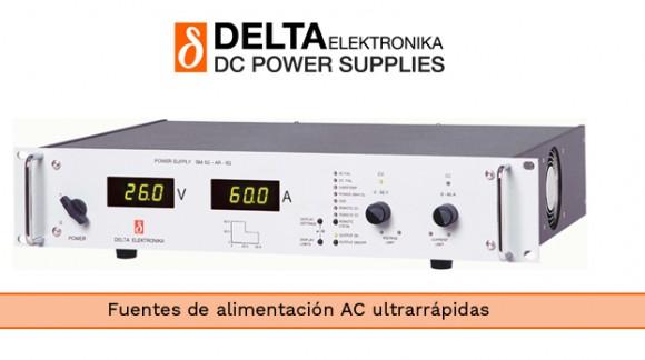 Fuentes de alimentación programables ultrarrápidas de la serie SM de DELTA ELEKTRONIKA