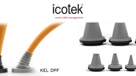 Pasamuros para cables gruesos con flexibilidad y alta estanqueidad