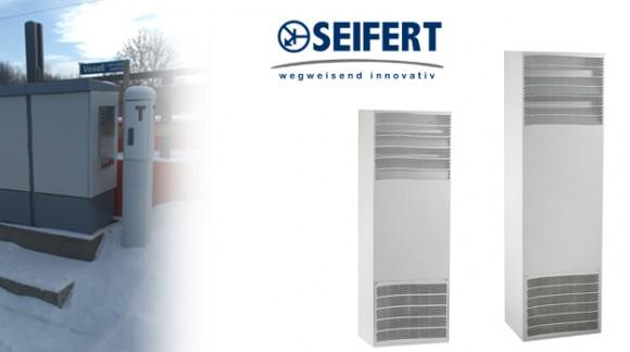 Refrigeración de cuadros eléctricos en intemperie con la serie solither outdoor de SEIFERT SYSTEMS