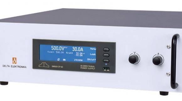 Delta Elektronika: Nueva fuente de alimentación programable DC bidireccional de 15KW en tan sólo 3U de altura y con un rendimien