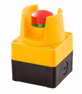 Caja equipada con seta de emergencia SIL_QRSKUVOO, Serie CAJAS