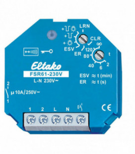 Receptores S_FSR61_230V para pulsador inalámbrico, Serie WIRELESS