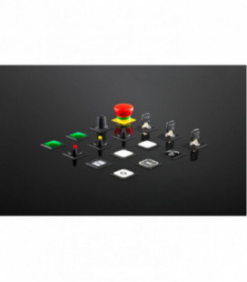 Familia completa OKTRON JUWEL, formato rasante, IP65, taladro 23,1x23,1