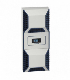 Aire acondicionado industrial para indoor/outdoor. Familia completa Slimline PRO, desde 350W hasta 6000W, IP56, montaje lateral