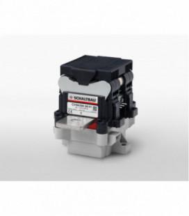 Contactor corriente continua bidireccional, 1500Vdc, 500A, 1NA, 24Vdc, serie C310, Schaltbau