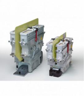 Contactor corriente continua bidireccional de alta tensión, 1800Vdc, 400A, 2NA, 24Vdc, serie CT, Schaltbau