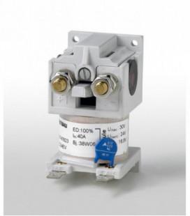 Contactor corriente continua. Familia completa C137, 150Vdc, 50A, 1NA, 24/36/48/72/80/110Vdc, Schaltbau