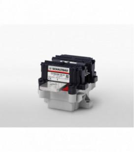 Contactor corriente continua bidireccional, 60Vdc, 500A, 1NA, 24Vdc, serie C310, Schaltbau