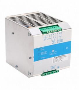 Cargador de baterías carril DIN 240W, Uin Vac monofásica, Uout 24Vdc, 10A, ADEL SYSTEMS