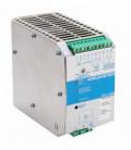 Cargador de baterías carril DIN 120W, Uin Vac monofásica, Uout 24Vdc, 5A, ADEL SYSTEMS