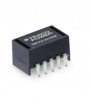 Regulador conmutado, Uin 4,75-32Vdc, Uout 1,4-15,5Vdc, TRACO POWER