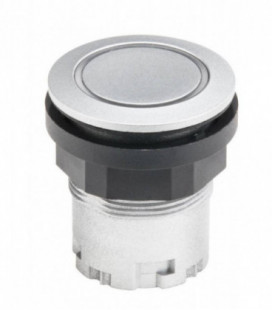 Pulsador luminoso JRMTLR, formato rasante, IP67, taladro Ø 22, Serie RONDEX JUWEL