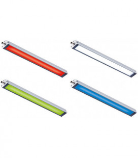 Lámparas LED Industriales para maquinaria 15,84W/48W, 1540mm, IP67/IP69K, 24 Vdc, LED2WORK