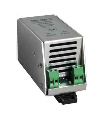 Fuente de Alimentación AC DC carril DIN 72W, Uin 24-32Vac, 33-45 Vdc. Uout 24Vdc, ADEL SYSTEMS
