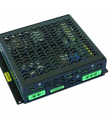 Convertidor DC DC en caja 500W, Uin 14,4-154Vdc, Uout 12Vdc, intreXis