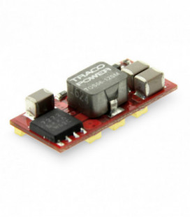 Regulador conmutado, Uin 2,4-14Vdc, Uout 0,75-5,5Vdc, TRACO POWER