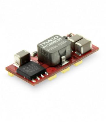 Regulador conmutado, Uin 2,4-14Vdc, Uout 0,75-5,5Vdc, TRACO POWER