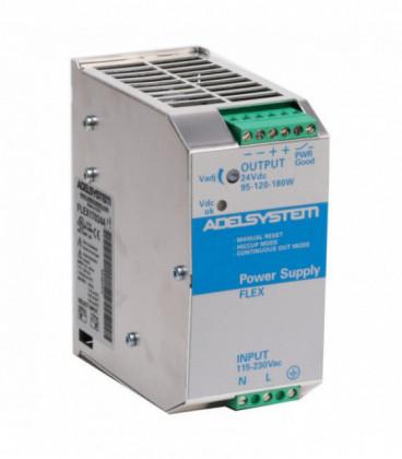 Fuente de Alimentación AC DC carril DIN 170W, Uin Vac bifásica, Uout 24Vdc, ADEL SYSTEMS