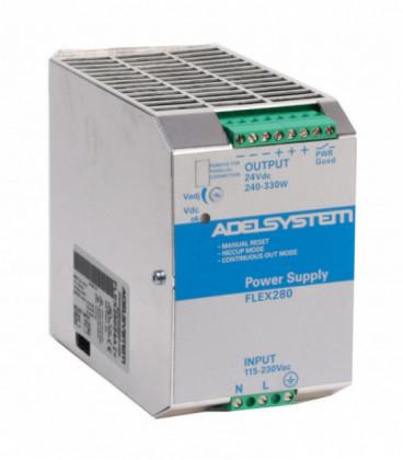 Fuente de Alimentación AC DC carril DIN 280W, Uin Vac monofásica, Uout 12Vdc, ADEL SYSTEMS