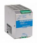 Fuente de Alimentación AC DC carril DIN 280W, Uin Vac monofásica, Uout 24Vdc, ADEL SYSTEMS