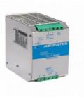 Fuente de Alimentación AC DC carril DIN 500W, Uin Vac bifásica, Uout 24Vdc, ADEL SYSTEMS