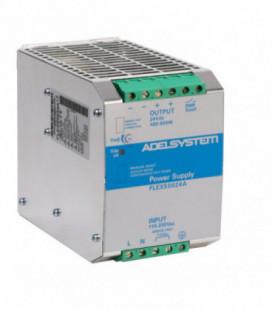 Fuente de Alimentación AC DC carril DIN 500W, Uin Vac trifásica, Uout 24Vdc, ADEL SYSTEMS