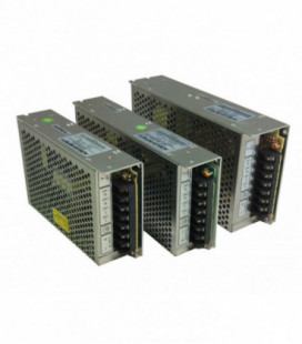 Convertidor DC DC en caja 100W, Uin 18-36Vdc, Uout 24Vdc, ADEL SYSTEMS