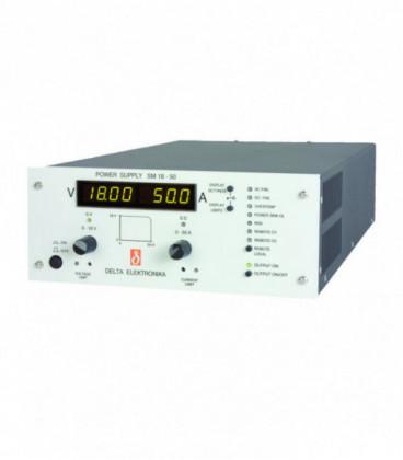 Fuente de alimentación programable DC 800W, Uout 0-18V/ 0-50A, DELTA ELEKTRONIKA