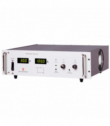 Fuente de alimentación programable DC 3000W, Uout 0-30V/ 0-100A, DELTA ELEKTRONIKA