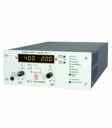 Fuente de alimentación programable DC 800W, Uout 0-400V/ 0-4A, DELTA ELEKTRONIKA