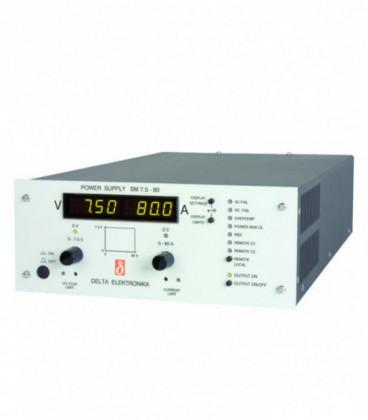 Fuente de alimentación programable DC 800W, Uout 0-7,5V/ 0-80A, DELTA ELEKTRONIKA