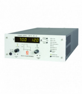 Fuente de alimentación programable DC 800W, Uout 0-70V/ 0-24A, DELTA ELEKTRONIKA
