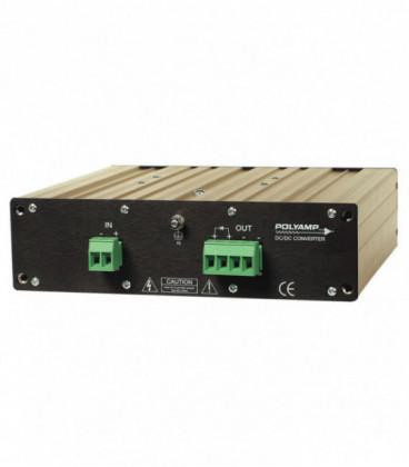 Convertidor DC DC en caja 500W, Uin 41-300Vdc, Uout 13,2,24,48,110Vdc, POLYAMP