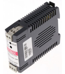 Convertidor DC DC carril DIN 24W, Uin 9,5-18Vdc, Uout 24Vdc, TRACO POWER