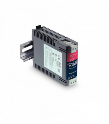 Convertidor DC DC carril DIN 24W, Uin 18-75Vdc, Uout 24Vdc, TRACO POWER