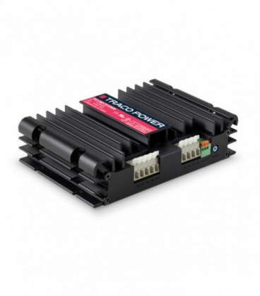 Convertidor DC DC en caja 300W, Uin 18-160Vdc, Uout 12, 15, 24, 28, 48Vdc, TRACO POWER
