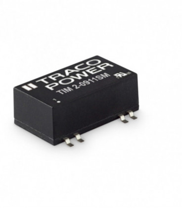 Convertidor DC DC para PCB 2W, Uin 4,5-75Vdc, Uout 5, 12, 15,24, ±12, ±15Vdc, TRACO POWER