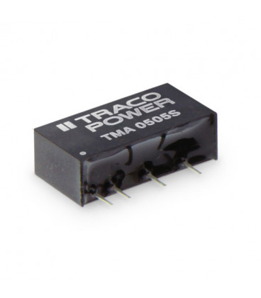 Convertidor DC DC para PCB 1W, Uin 2,97-26,6Vdc, Uout 5,9,12,15, ±5, ±12, ±15Vdc, TRACO POWER
