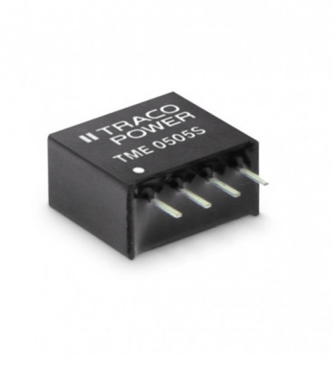 Convertidor DC DC para PCB 1W, Uin 4,5-26,6Vdc, Uout 5,9,12,15Vdc, TRACO POWER