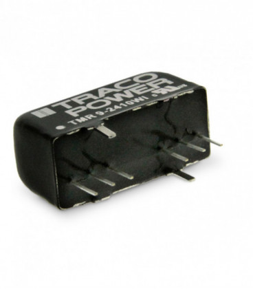 Convertidor DC DC para PCB 9W, Uin 9-160Vdc, Uout 3.3, 5,9,12,15,24, ±5, ±12, ±15Vdc, TRACO POWER