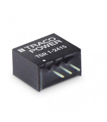 Regulador conmutado, Uin 4,6-36Vdc, Uout 5Vdc, TRACO POWER