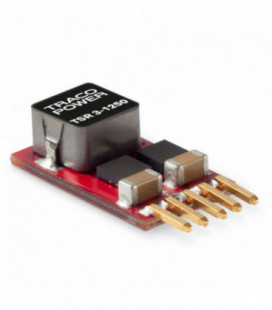 Regulador conmutado, Uin 2,5-30Vdc, Uout 0,6-15Vdc, TRACO POWER