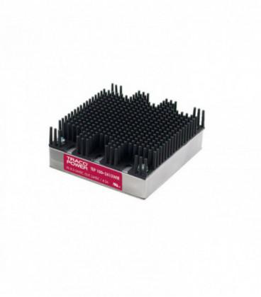Convertidor DC DC en caja 100W, Uin 9-160Vdc, Uout 12, 24, 28, 48Vdc, TRACO POWER
