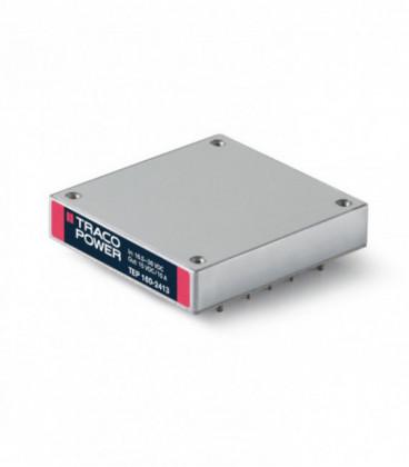 Convertidor DC DC en caja 160W, Uin 16,5-75Vdc, Uout 12, 15, 24, 28, 48Vdc, TRACO POWER