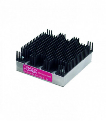 Convertidor DC DC en caja 160W, Uin 8,5-160Vdc, Uout 12, 15, 24, 28, 48Vdc, TRACO POWER